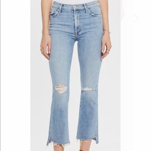 MOTHER THE INSIDER CROP STEP FRAY Size 27